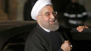 Shugaban kasar Iran Hassan Rouhani