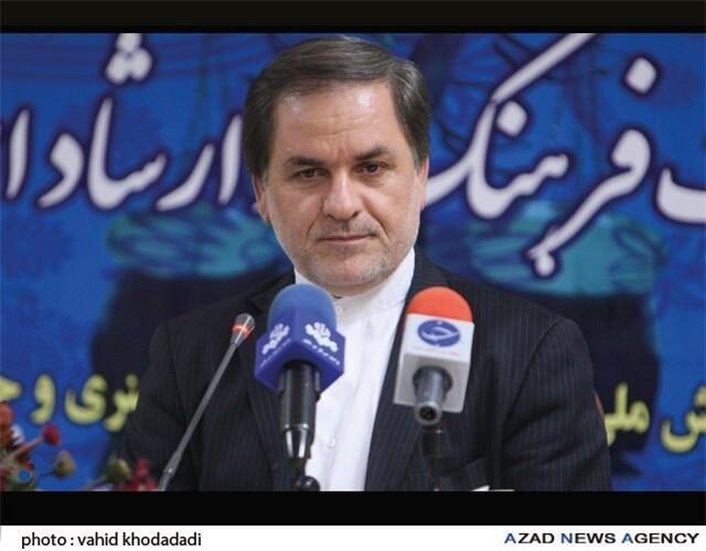حسین نوش آبادی، سخنگوی وزارت ارشاد اسلامی