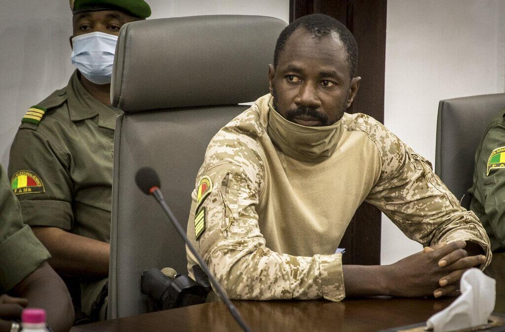 Kanar Assimi Goita jagoran juyin mulkin Mali.