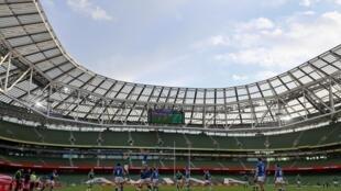 Dublin's Aviva Stadium was due to host four Euro 2020 matches