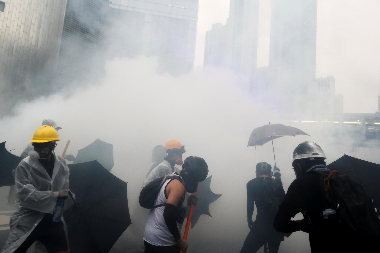香港反送中示威。