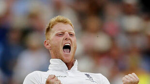 Ben Stokes was England's most potent bowler on the second day of the fourth test against Australia.