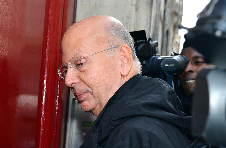 Patrick Buisson, l'ancien conseiller de Nicolas Sarkozy, en octobre 2012.