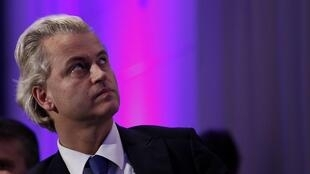 Dutch ultra right-wing MP, Geert Wilders