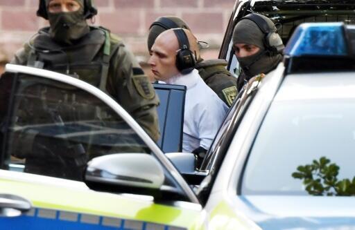 Stephan Balliet , el acusado de ultraderecha