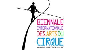 Affiche de la biennale internationale des arts du cirque 2015