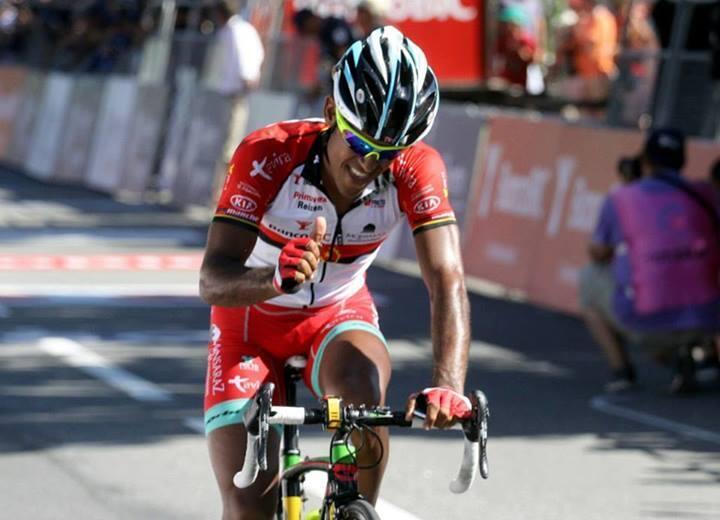 Igor Silva, ciclista angolano da equipa Banco BIC-CARMIM-Tavira.