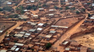 Vue aérienne de Niamey, capitale du Niger.