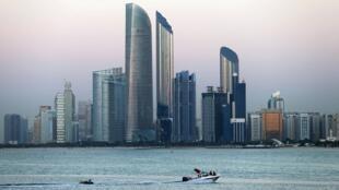 Nhìn toàn cảnh thành phố Abu Dhabi, thủ đô của Các Tiểu Vương Quốc Ả Rập Thống Nhất. Ảnh chụp ngày 03/01/2019.