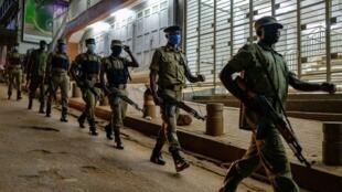 Uganda police
