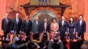 阿里巴巴隆重举行返回香港上市仪式2019 年11月26日