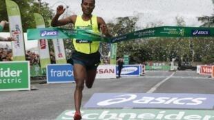 Kenenisa Bekele na Habasha a tseren gudun Marathon karo na 38 da aka gudanar a Paris