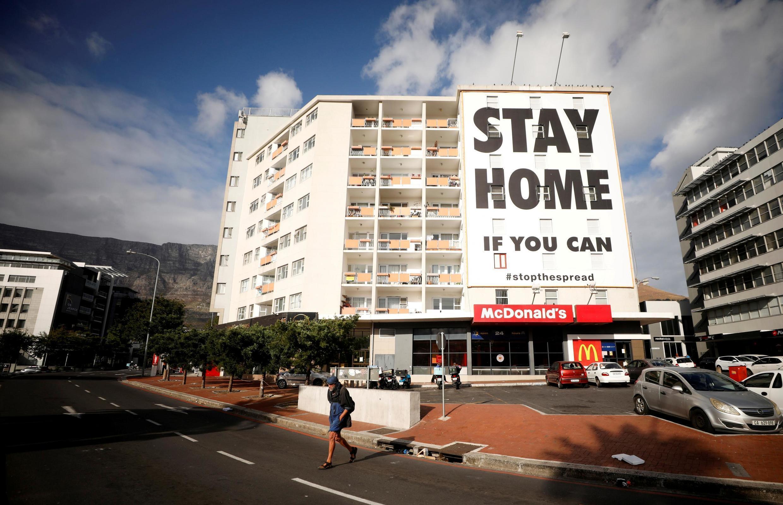 南非致力于抗疫,  7 avril 2020.