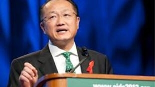Rais wa Benki ya Dunia, Jim Yong Kim