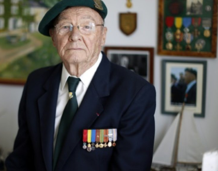 Jean Masson was one the 177 French soldiers who stormed the Normandy beaches in June 1944 as part of the legendary Kieffer Commando