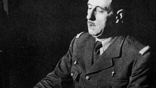 000_SAPA990224254890 - général Charles de Gaulle - Appel 18 juin 1940