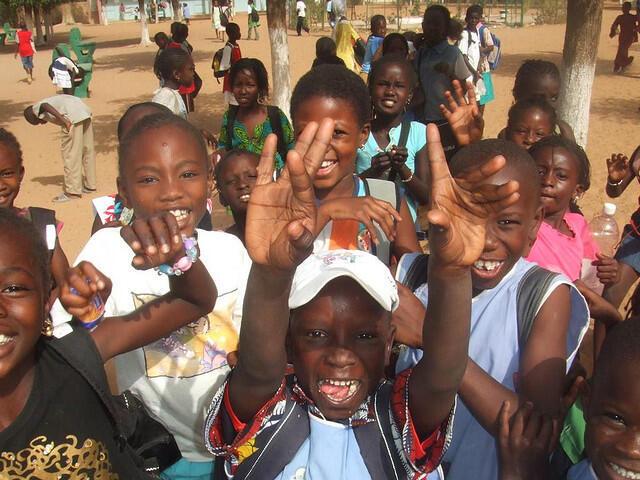 Des enfants au Sénégal.