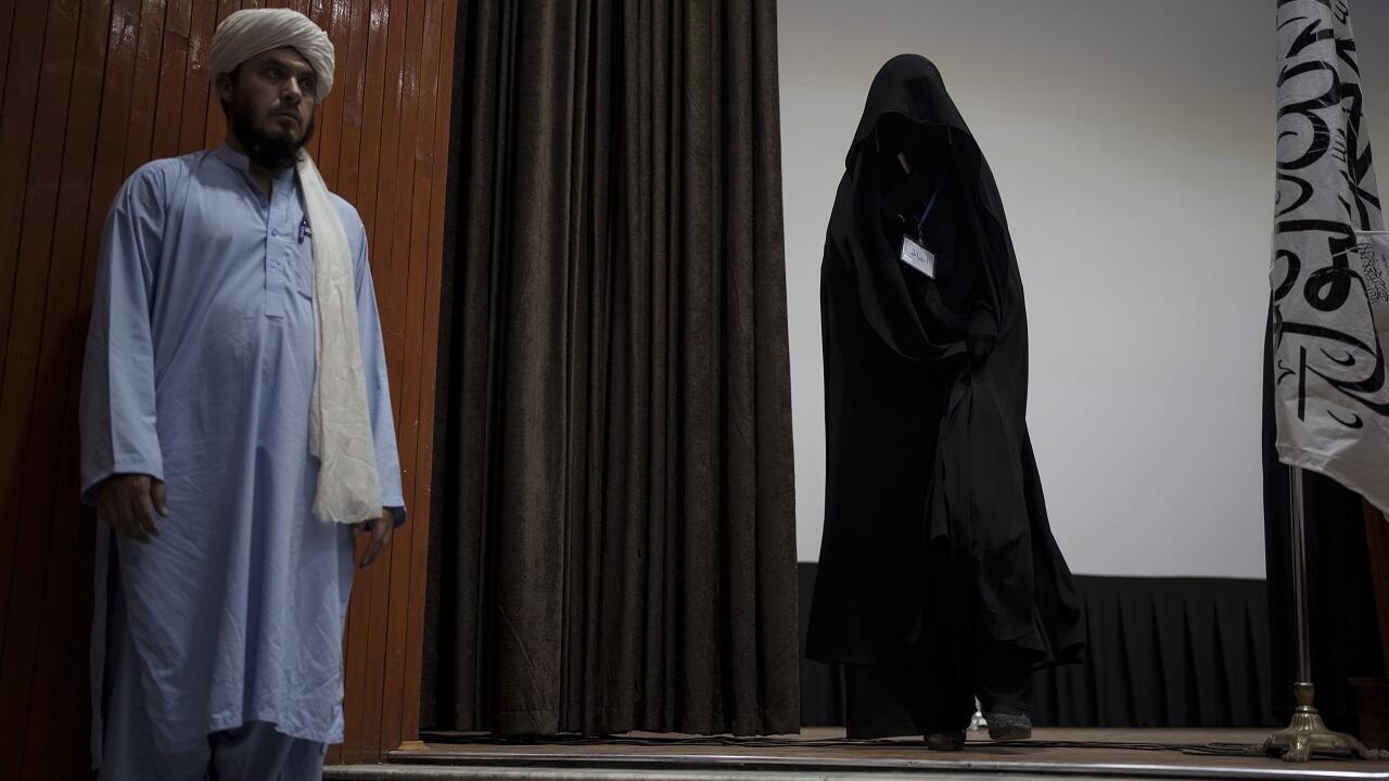 PHOTO Kaboul Université Talibans Femmes