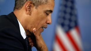 Selon une enquête d'opinion citée par le «Washington Post», 35% des Américains rejettent la faute de l'actuelle crise budgétaire sur Obama et les démocrates.