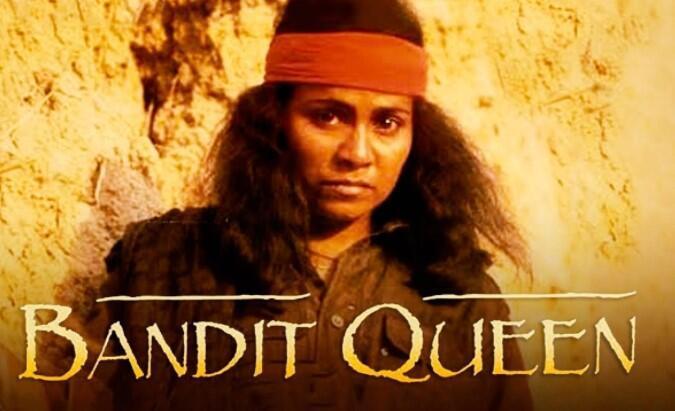 Screen grab of Indian film Bandit Queen_biopic of Phoolan Devi_NZ Studios 1994