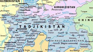 Cộng hòa Tadjikistan ở vùng Trung Á, thuộc Liên Xô cũ.