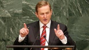 اندا کنی رهبر حزب فینه گیل، حزب راست میانه در ایرلند