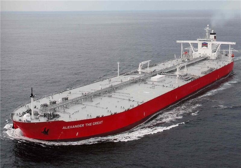 کشتی یونانی نفت ایران را به اروپا میبرد
