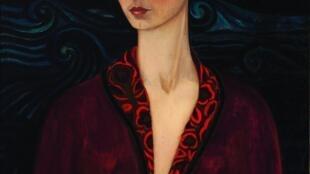 Autorretrato con Traje de Terciopelo by Frida Kahlo, 1926