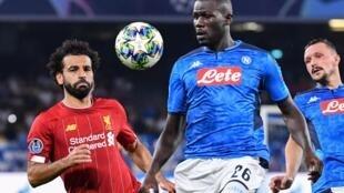 Le Sénégalais Kalidou Koulibaly devance l'Égyptien Mohamed Salah.
