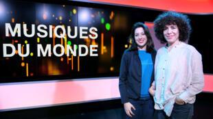Macha Gharibian et Céline Bénezeth à RFI.