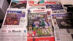 Diários franceses 12/11/2014