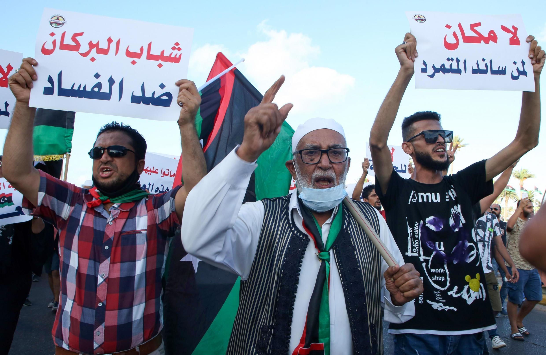 Manifestations à Tripoli contre la corruption des élites et la pauvreté des services publics.