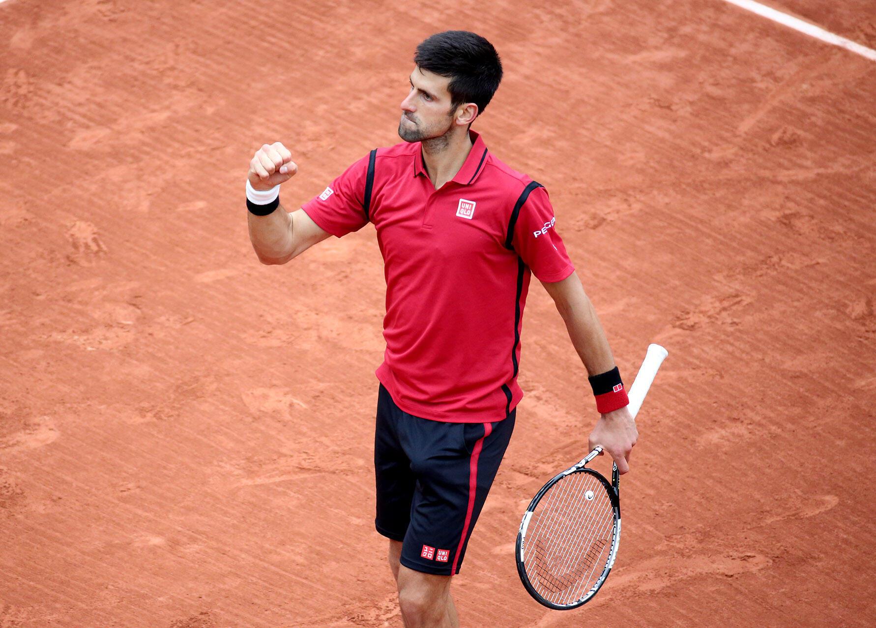Novak Djokovic at Roland Garros 3 juin 2016