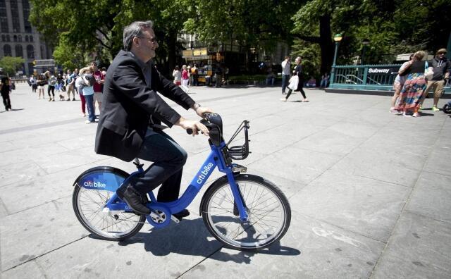 O sistema de aluguel de bicicletas chega em Nova York
