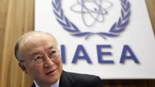 Embaixadores da Rússia, França e EUA se reúniram hoje com o diretor da AIEA, Yukya Amano.