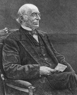 William Lloyd Garrison, abolitionniste célèbre.