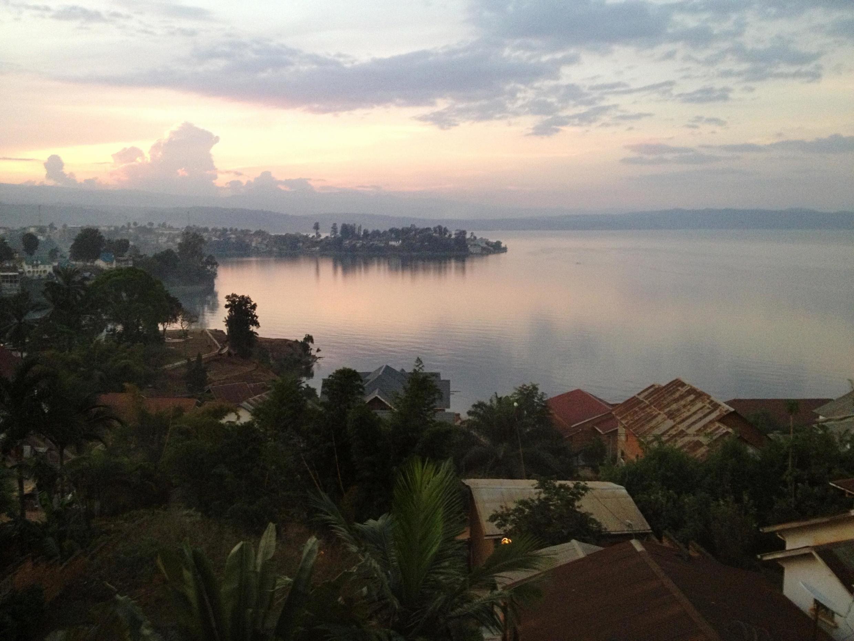 Bukavu, mji mkuu wa mkoa wa Kivu Kusini, mashariki mwa DRC.