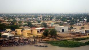 Mji wa Malakal, Sudan Kusini, mji mkuu wa jimbo la Upper Nile, ambapo kunazalishwa kiwango kikubwa cha mafuta.