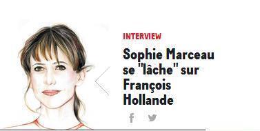As declarações polêmicas de Sophie Marceau no site da revista GQ