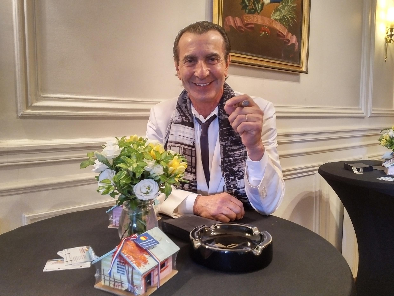 Litto Gómez, productor de puros de alta calidad.