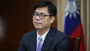 台高雄市長陳其邁資料圖片