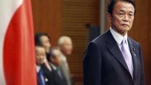 日本副首相麻生太郎