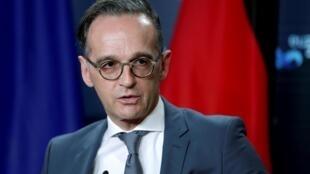Le ministre allemand des Affaires étrangères Heiko Maas, (ici à Berlin le 26 octobre 2020) a exprimé sa solidarité avec la France notamment dans son combat contre l'islamisme.