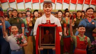 Hình ảnh về Cách Mạng Văn Hóa Trung Quốc tại Bảo tàng tại Tứ Xuyên.