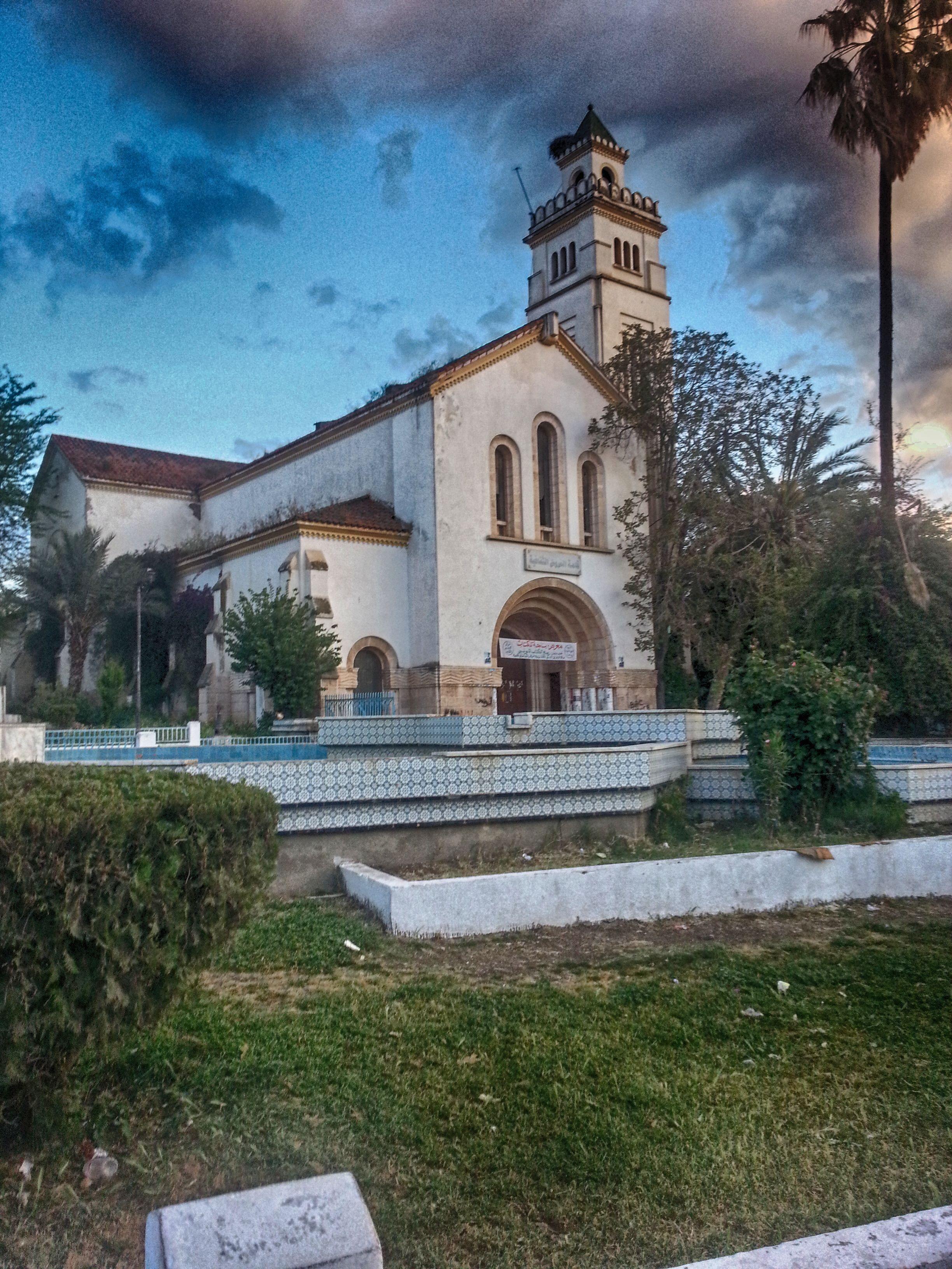 L'ancienne église de Béja est maintenant transformée en librairie.