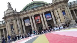La FIAC tiene lugar en el Grand Palais de París.