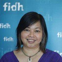 Bà Debbie Stothard, tổng thư ký Liên Đoàn Quốc Tế Nhân Quyền FIDH.