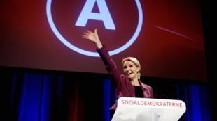 La social-démocrate Helle Thorning-Schmidt devrait devenir le nouveau Premier ministre au Danemark.