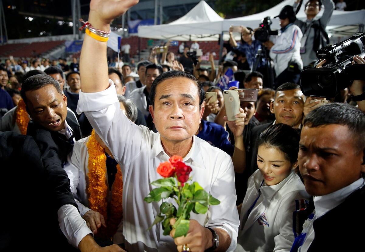 泰國總理巴育資料圖片