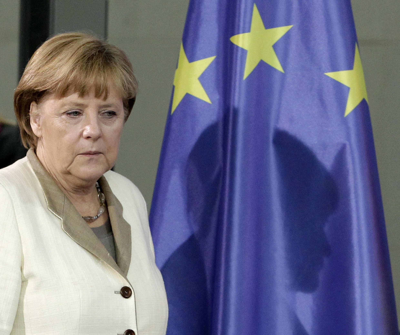 A chanceler alemã, Angela Merkel.